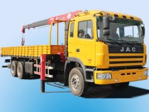 Xe tải cẩu JAC