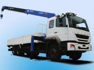 Xe tải cẩu Fuso