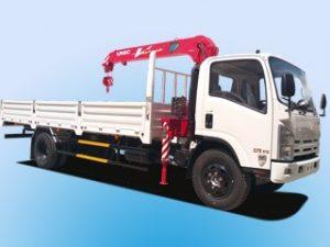 Xe tải cẩu Isuzu Vĩnh Phát