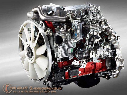 Động cơ Euro 4 thế hệ mới nhất của Hino