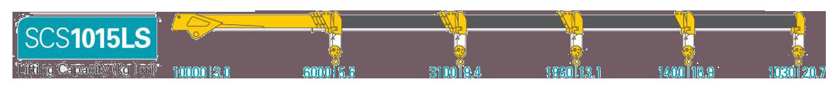 Cẩu Soosan scs 1015 Ls